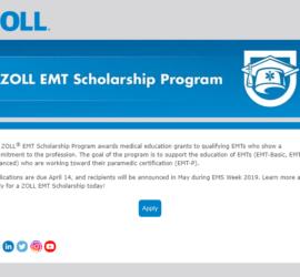 EMT scholarship program