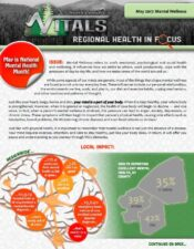 Regional Health In Focus: Mental Wellness