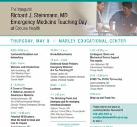Emergency Medicine Teaching Day