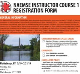national ems instructor course