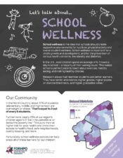 Regional Health In Focus: School Wellness